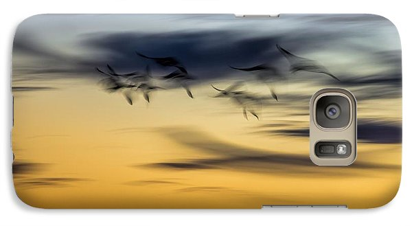 Natural Abstract Art Galaxy S7 Case by Peggy Hughes