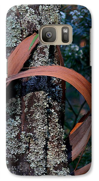 Galaxy Case featuring the photograph Natural Bands 1 by Evelyn Tambour