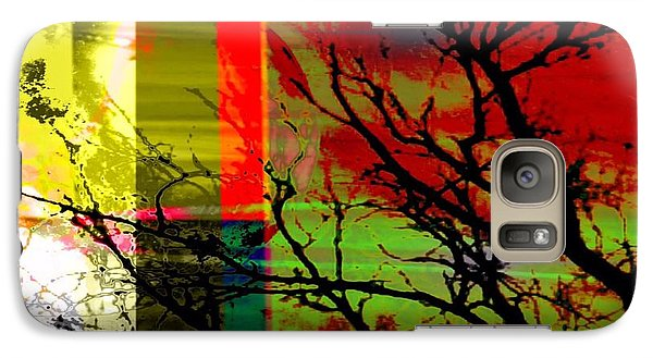 Galaxy Case featuring the digital art Natural Beauty #2 by Diana Riukas