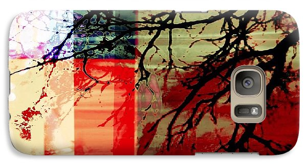 Galaxy Case featuring the digital art Natural Beauty #3 by Diana Riukas