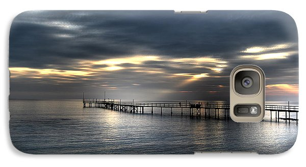 Galaxy Case featuring the photograph Natural Light Show by Erhan OZBIYIK