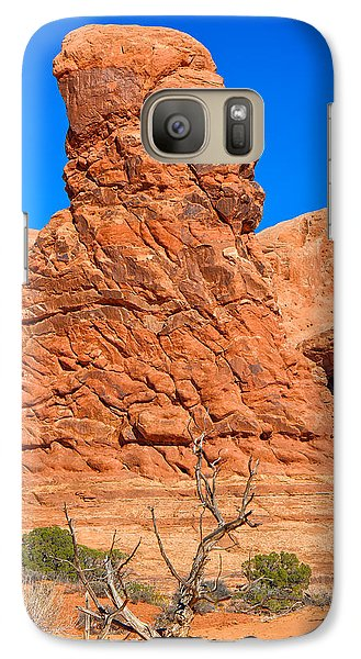Galaxy Case featuring the photograph Natural Sculpture by John M Bailey