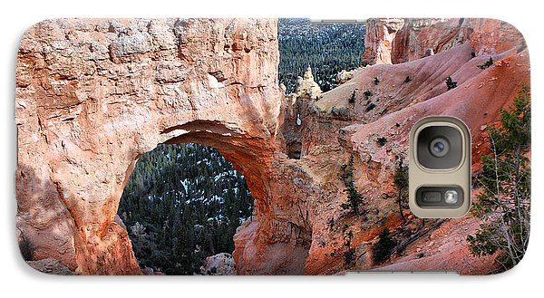Galaxy Case featuring the photograph Natural Wonders by Barbara Manis