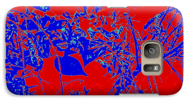Galaxy Case featuring the photograph Nature Arti  Image by Yolanda Rodriguez