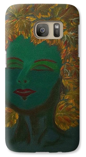 Galaxy Case featuring the painting Nature At Her Best by Brindha Naveen