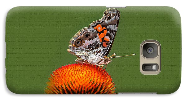 Galaxy Case featuring the photograph Nature Freedom by Marion Johnson