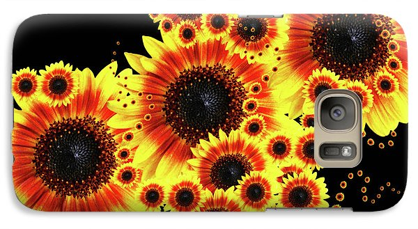 Galaxy Case featuring the photograph Nature Hypnosis by Cathy  Beharriell
