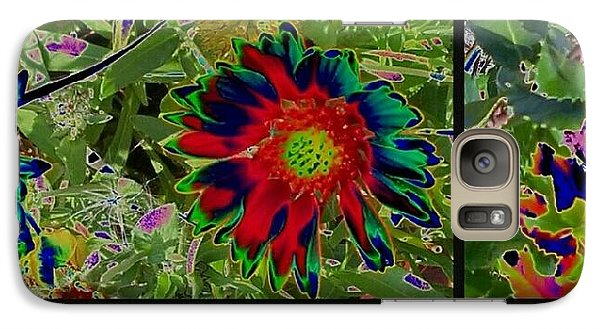 Galaxy Case featuring the photograph Nature Reprise by Thomasina Durkay