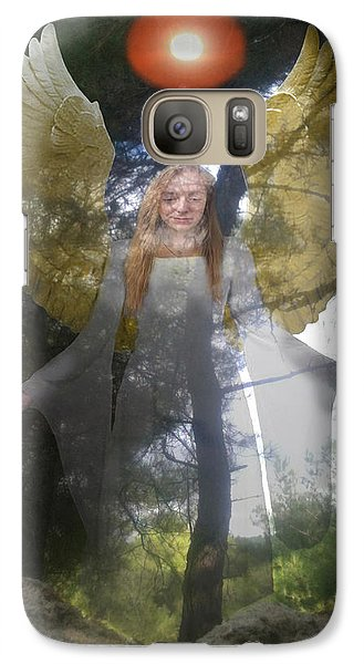 Galaxy Case featuring the photograph Nature's Angel by Eric Kempson