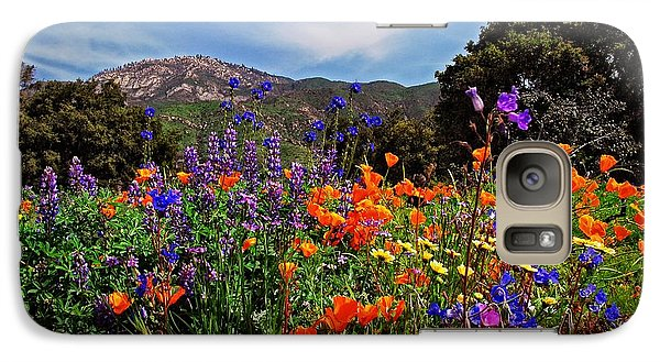 Galaxy Case featuring the photograph Nature's Bouquet  by Lynn Bauer