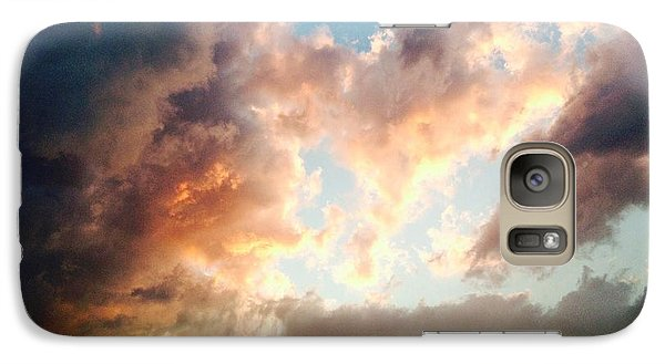 Galaxy Case featuring the photograph Nature's Canvas by Candice Trimble