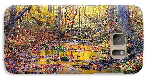 Galaxy Case featuring the photograph Nature's Color Palette by Candice Trimble