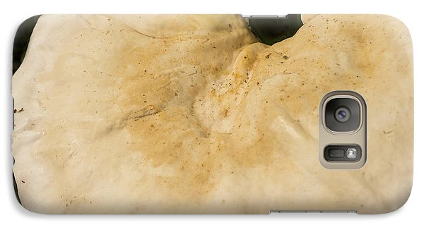 Galaxy Case featuring the photograph Nature's Crescent by Wanda Brandon