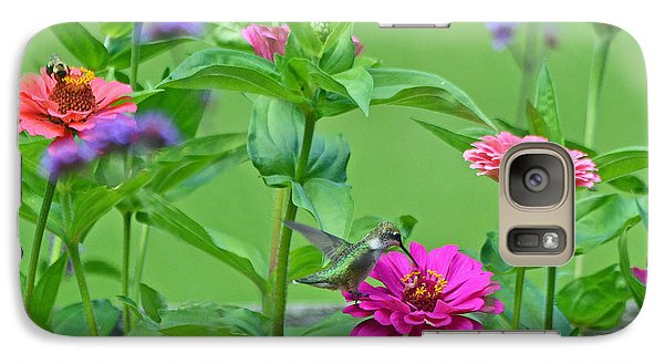 Galaxy Case featuring the photograph Nature's Dinner Table by Rodney Campbell