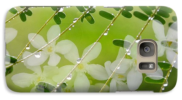 Galaxy Case featuring the photograph Nature's Jewelry by Darla Wood