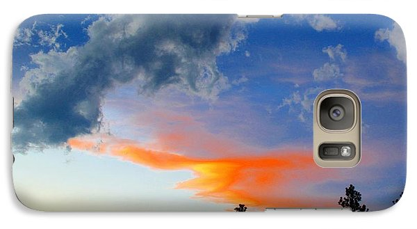 Galaxy Case featuring the photograph Nature's Palette by Barbara Chichester