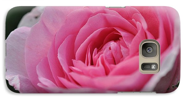 Galaxy Case featuring the photograph Nature's Pink by Sabine Edrissi