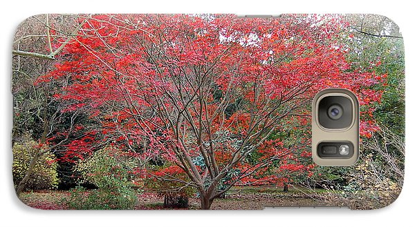 Galaxy Case featuring the photograph Nature's Red by Linda Prewer