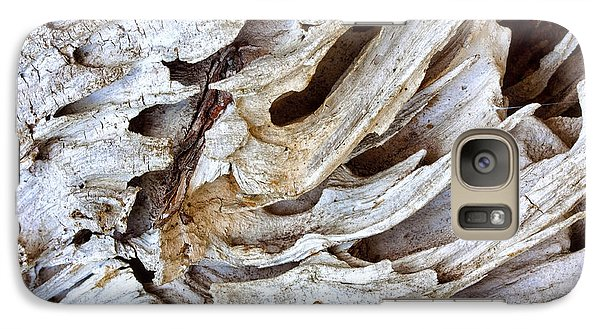 Galaxy Case featuring the photograph Nature's Sculpture-2 by Shirley Mitchell