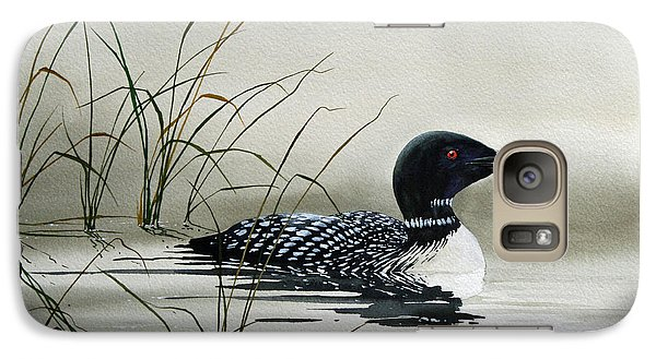 Loon Galaxy S7 Case - Nature's Serenity by James Williamson