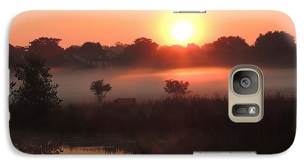 Galaxy Case featuring the photograph Nature's Spotlight by Teresa Schomig