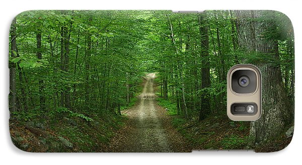 Galaxy Case featuring the photograph Nature's Way At James L. Goodwin State Forest  by Neal Eslinger