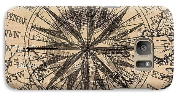 Galaxy Case featuring the painting Nautical II by James Christopher Hill