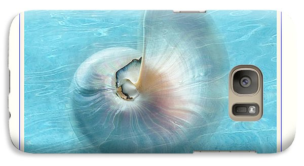 Galaxy Case featuring the photograph Nautilus Shell Underwater by Linda Olsen