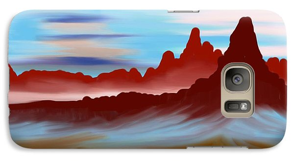 Galaxy Case featuring the digital art Navajo by Brian Johnson