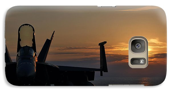 Galaxy Case featuring the photograph Navy Super Hornet by John Swartz