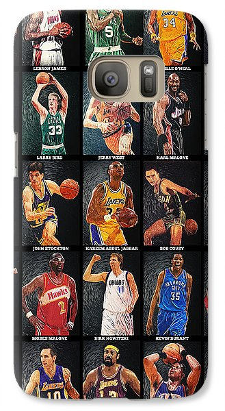 Nba Legends Galaxy S7 Case by Taylan Apukovska