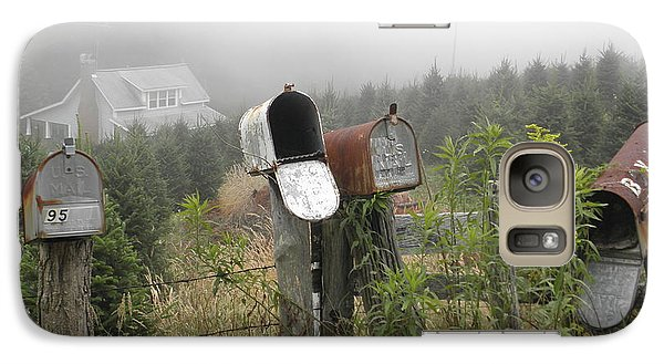 Galaxy Case featuring the photograph Nc Mailboxes by Valerie Reeves