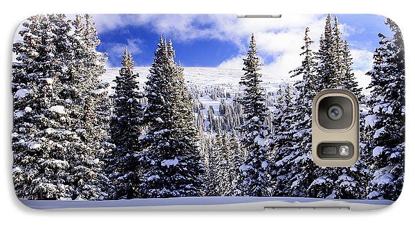 Galaxy Case featuring the photograph Near Treeline by The Forests Edge Photography - Diane Sandoval