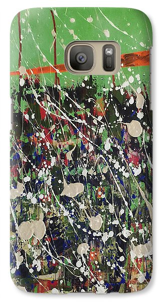 Galaxy Case featuring the painting Near Vistas by Theresa Kennedy DuPay