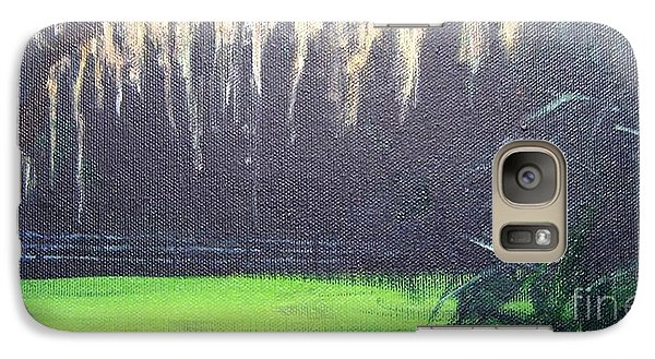 Galaxy Case featuring the painting Nearest Neighbor by Mary Lynne Powers