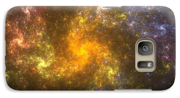Galaxy Case featuring the digital art Nebula by Svetlana Nikolova