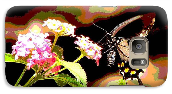 Galaxy Case featuring the photograph Nectar by Linda Cox