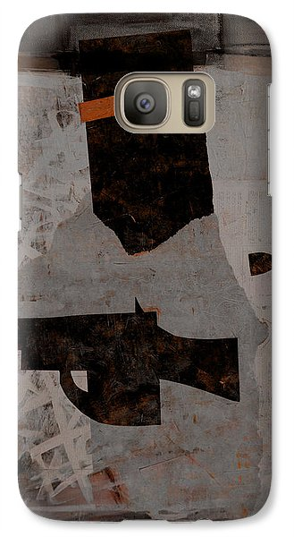 Galaxy Case featuring the mixed media Ned Kelly #1 by Kim Gauge