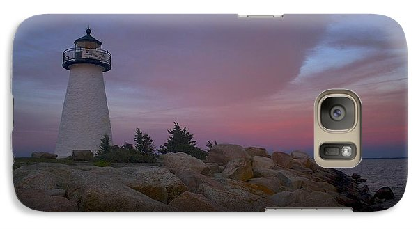 Galaxy Case featuring the photograph Ned's Point At Sunset by Amazing Jules