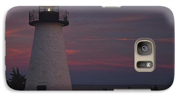 Galaxy Case featuring the photograph Ned's Point Lighthouse Of Mattapoisett by Amazing Jules