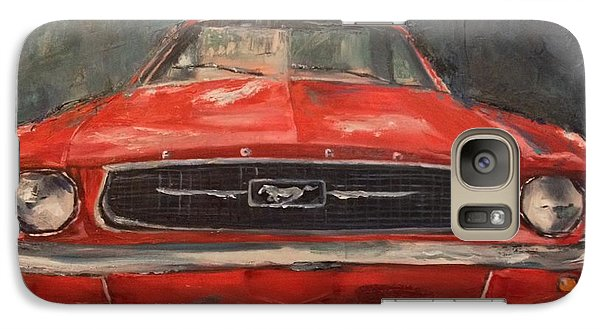 Galaxy Case featuring the painting Need For Speed by Lindsay Frost