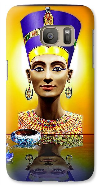 Galaxy Case featuring the photograph Nefertiti  The  Beautiful by Hartmut Jager