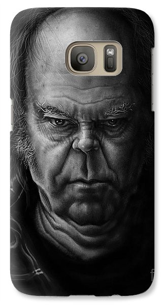 Neil Young Galaxy S7 Case by Andre Koekemoer