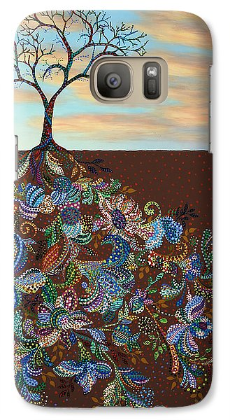 Neither Praise Nor Disgrace Galaxy S7 Case by James W Johnson