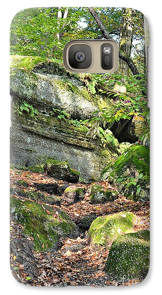 Galaxy Case featuring the photograph Nelson-kennedy Ledges by Lila Fisher-Wenzel