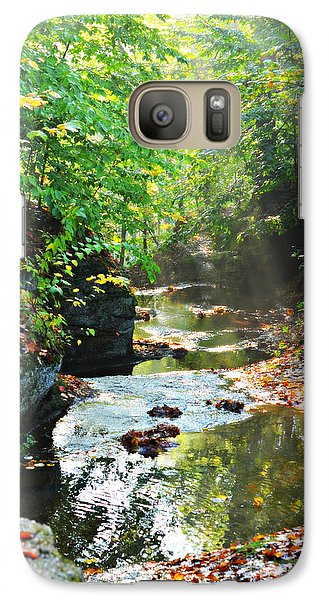 Galaxy Case featuring the photograph Nelson Ledges by Lila Fisher-Wenzel