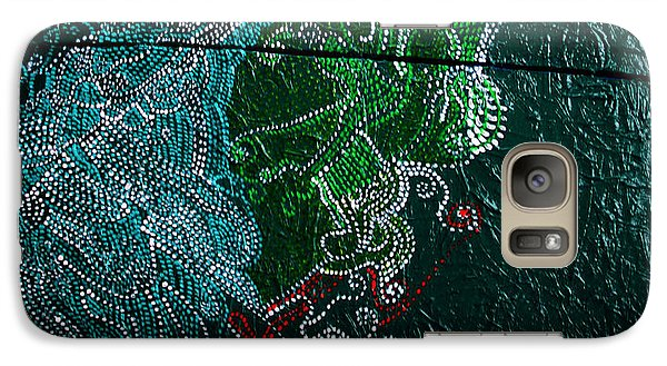 Galaxy Case featuring the painting Nemesis by Gloria Ssali