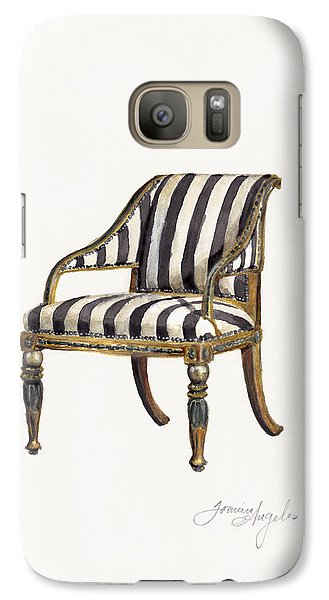 Neoclassical Armchair Galaxy Case by Jazmin Angeles
