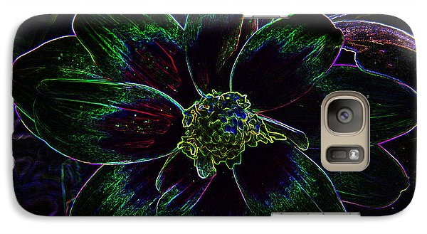 Galaxy Case featuring the photograph Neon Glow by Aimee L Maher Photography and Art Visit ALMGallerydotcom
