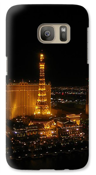 Galaxy Case featuring the photograph Neon Illusion by Angela J Wright